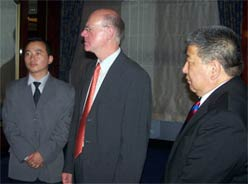 Norbert Lammert, the President of the Bundestag, the German parliament 2006 Berlin